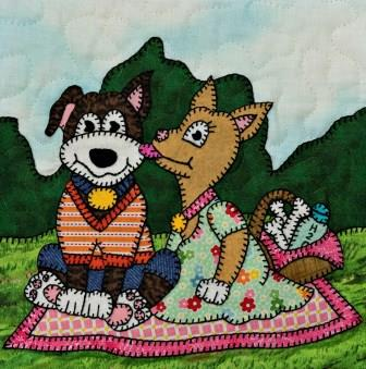 Puppy Picnic by Ms P Designs USA
