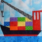 Cargo Ship by Ms P Designs USA