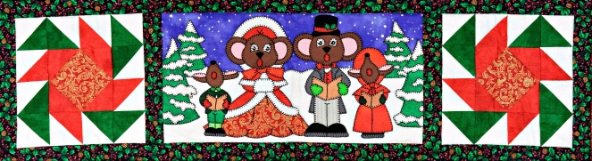 Here We Come A-Caroling Ms P Designs USA