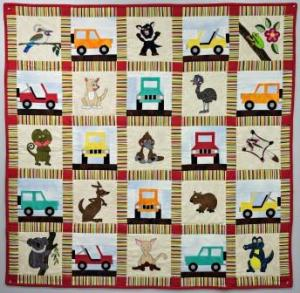 Down Under Austrailian Animals Quilt Pattern by Ms P Designs USA