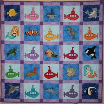 Ocean Adventure Quilt by Ms P Designs USA