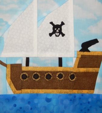 Pirate Ship by Ms P Designs USA