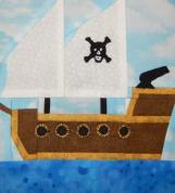 Pirate Ship by Ms P Designs USA