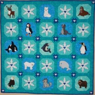 Polar Animals Quilt Pattern by Ms P Designs USA