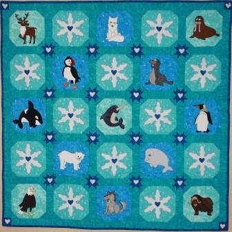 Polar Animals Quilt Pattern by Ms P Designs USA
