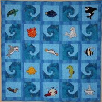 Reef Buddies, quilt pattern by Ms P Designs USA