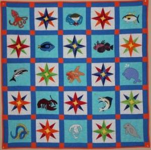 Reef Explorer Quilt by Ms P Designs USA