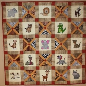 Safari! Quilt Pattern by Ms P Designs USA