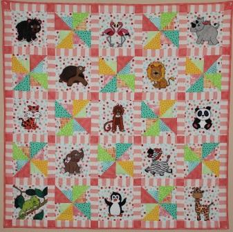 Zoo 2.0 Quilt pattern by Ms P Designs USA