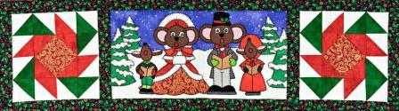 Here We Come A-Caroling Row by Ms P Designs USA