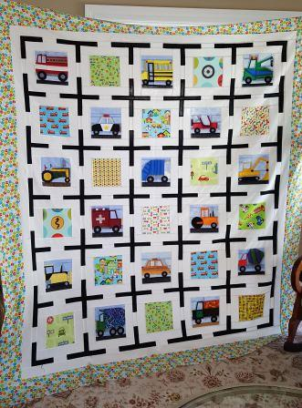 Customer Donna S PP Vehicle quilt