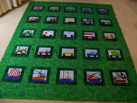 Customer Eve S PP Vehicle Quilt