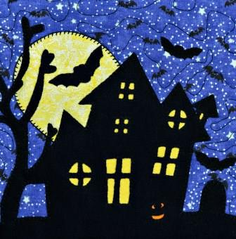 Spooky House by Ms P Designs USA