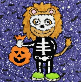 Lion Skeleton by Ms P Designs USA