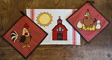 Farm Kitchen Set by Ms P Designs USA