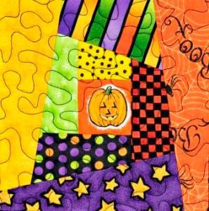 Wonky Log Cabin B by Ms P Designs USA