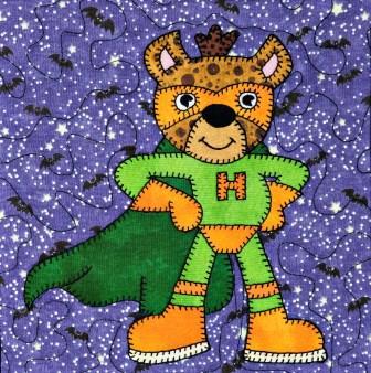 Super Hero Hyena by Ms P Designs USA