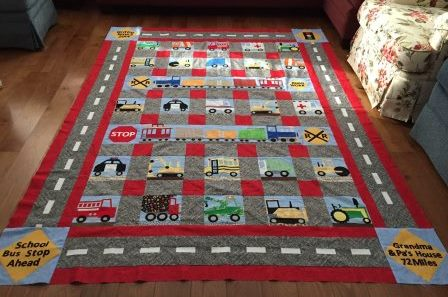 Susan Attebury PP Vehicle quilt