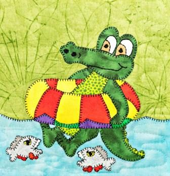 Caiman Applique by Ms P Designs USA