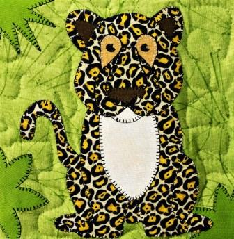 Jaguar Applique by Ms P Designs USA