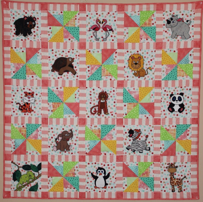 Zoo 2.0 Baby Quilt Pattern by Ms P Designs USA