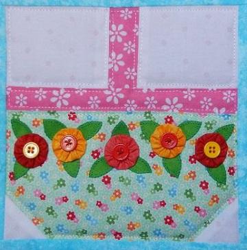 Spring Basket by Ms P Designs USA