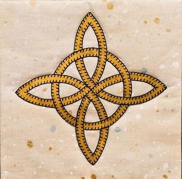 Celtic Eternal Friendship Knot pattern by Ms P Designs USA