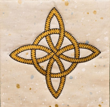 Celtic Eternal Friendship Knot pattern by Ms P Designs USA