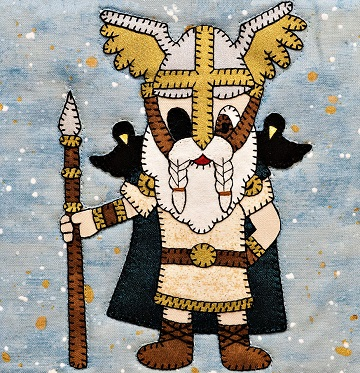 Odin pattern by Ms P Designs USA