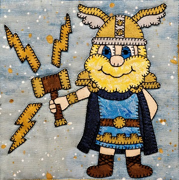 Thor pattern by Ms P Designs USA