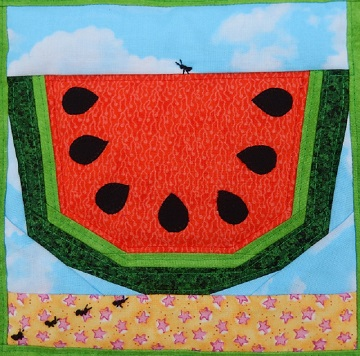 Summer picnic block by Ms P Designs USA