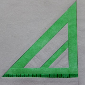 Carpenter's triangle pattern by Ms P Designs USA