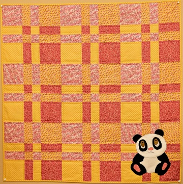 Giant Panda Nursery Quilt Pattern by Ms P Designs USA