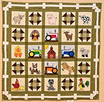 Farm Remix Quilt Pattern by Ms P Designs USA