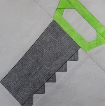 Handsaw pattern by Ms P Designs USA
