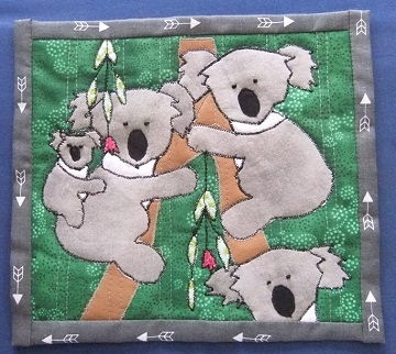 Janie K Koala mug rug April 2016