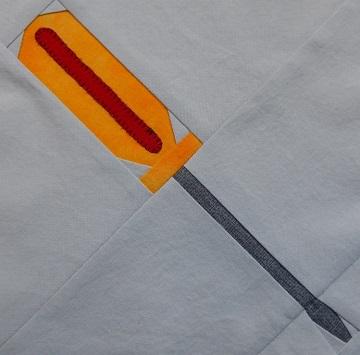 Standard screwdriver pattern by Ms P Designs USA