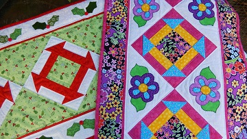 CChurn Dash Table Runners by Ms P Designs USA