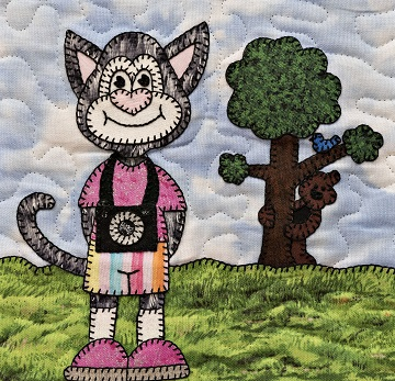 Shutterbug cat by Ms P Designs USA