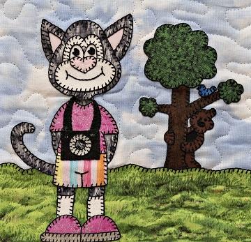 Shutterbug cat by Ms P Designs USA