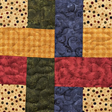 Woven Cross Block by Ms P Designs USA