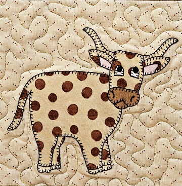 Longhorn applique by Ms P Designs USA