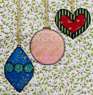 Christmas Ornaments 1 by Ms P Designs USA