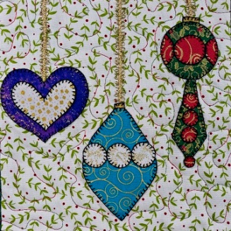 Christmas Ornaments 2 by Ms P Designs USA