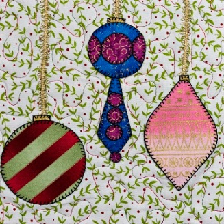 Christmas Ornaments 3 by Ms P Designs USA