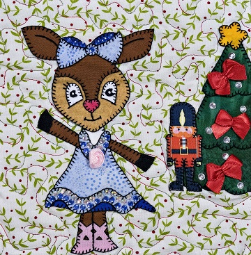 Clara Deer by Ms P Designs USA