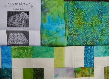 3rd Quarter UFO Fabrics from Sharon at Ms P Designs USA