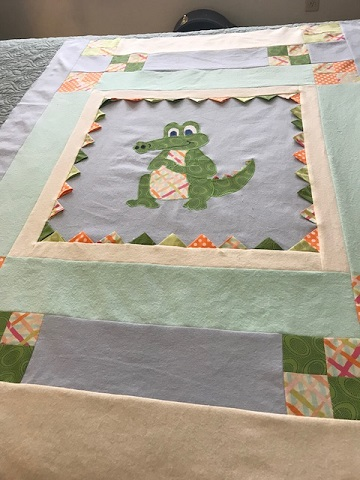 Mary M Alligator quilt