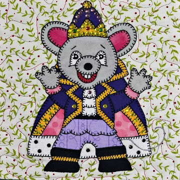 Mouse King Dancer by Ms P Designs USA
