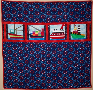 Nautical Quilt by Ms P Designs USA